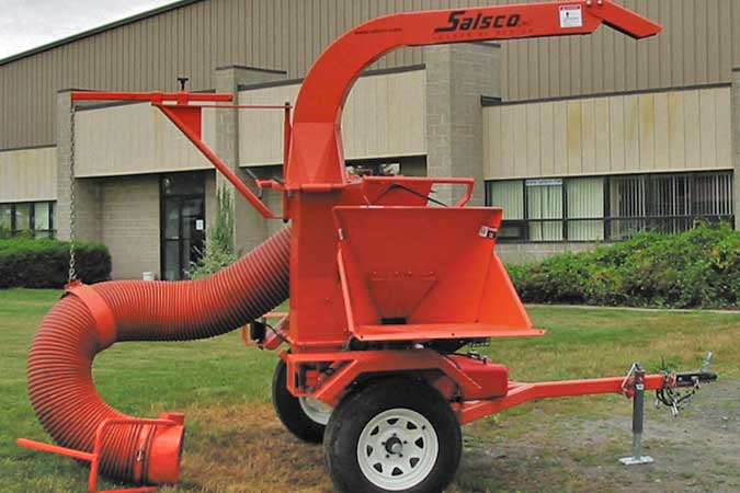 Wood Chippers Salsco Inc Chippers Pto Hydraulic Feed