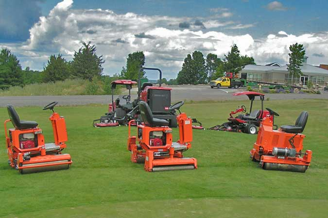 Home Salsco Inc Golf Course Maintenance Equipment