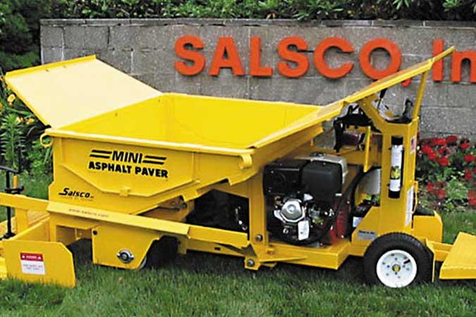 Mini Asphalt Track Paver Tp44 Salsco Inc