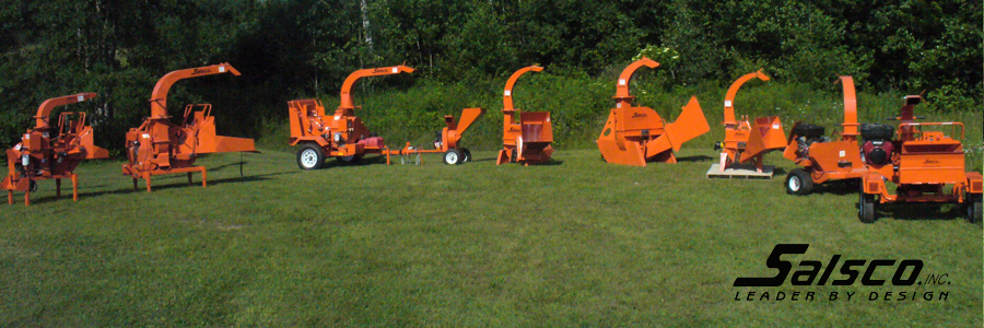 Wood Chippers | Salsco Inc  - chippers pto hydraulic feed