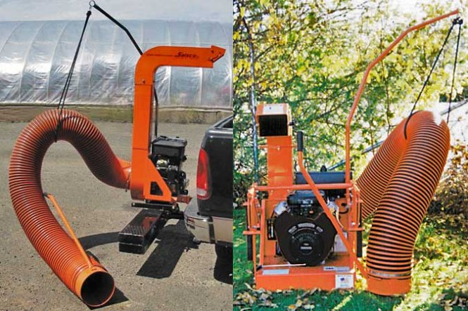 Tailgate & Bumper Mount Leaf Vacuums
