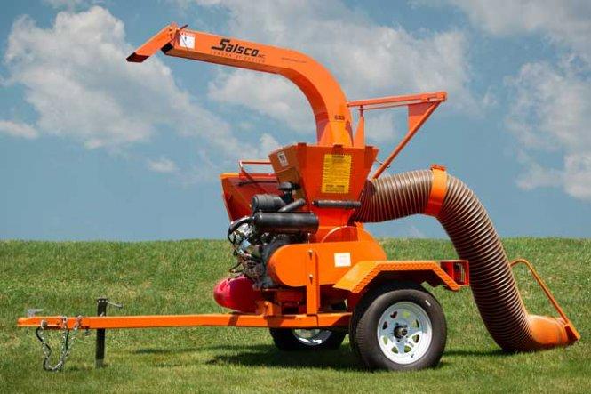 625K/640S Chipper Shredder Vacuum