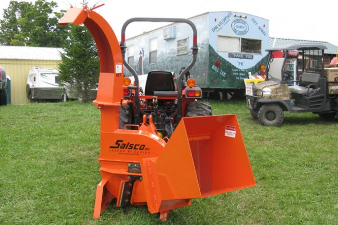 627PTO, GRAVITY FEED CHIPPER