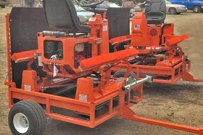 Gas Greens Rollers  Model HP5.5