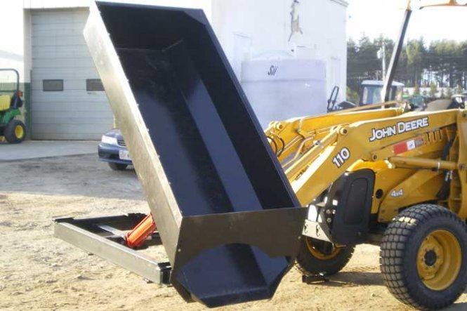 Skid Steer Side Dump Bucket