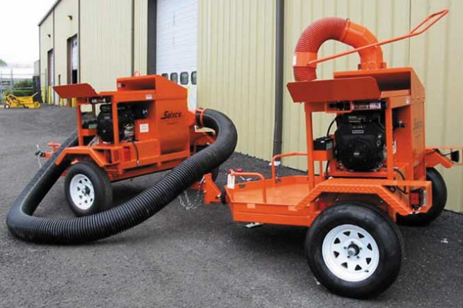 Strawblower, Skid Mount or Trailered