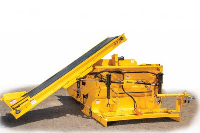 TPC Guidance Controlled Concrete Slipform Paver