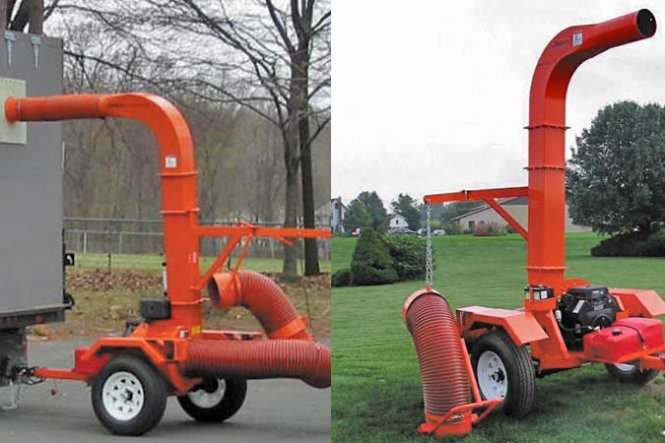 Truckloader Leaf Vacuum